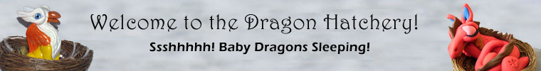 Welcome to the Dragon Hatchery! Ssshhh! Baby Dragons Sleeping!